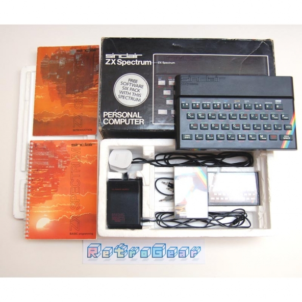 Sinclair ZX Spectrum 48K Boxed - Issue 2 - Rare 6C001E-5 ULA - Fully Refurbished 001-405537