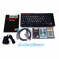 Sinclair ZX Spectrum Plus 128 - 'Toastrack' bundle - Fully Refurbished - 107-028201