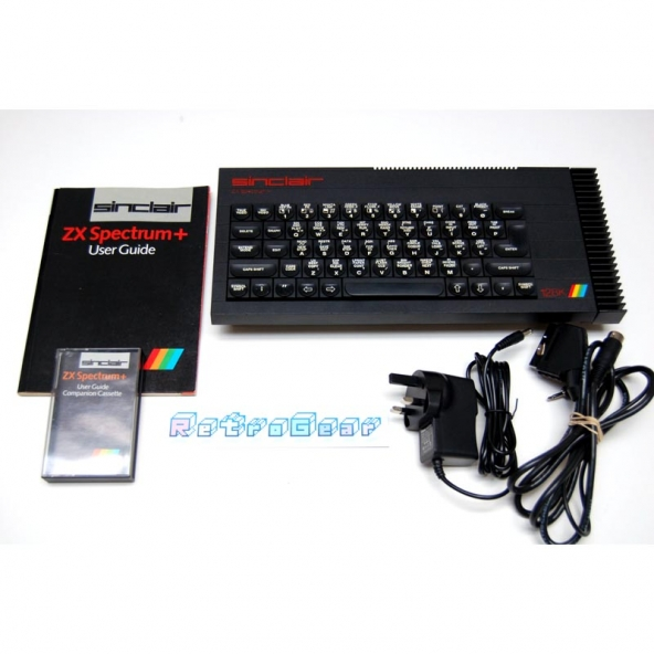 Sinclair ZX Spectrum Plus 128 - 'Toastrack' bundle B - Fully Refurbished