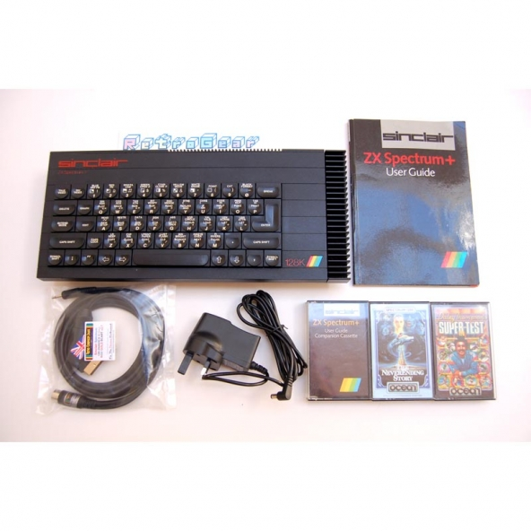 Sinclair ZX Spectrum Plus 128 - 'Toastrack' bundle B - Fully Refurbished A 108 055269