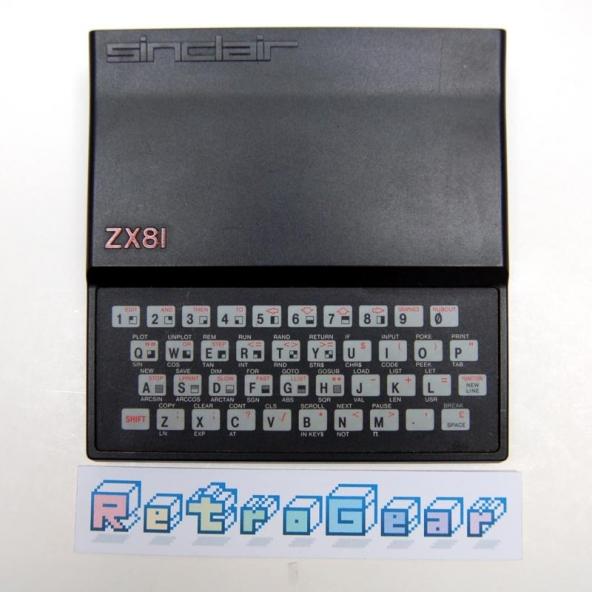Sinclair ZX81 - Issue 1 - 8132 ULA - Cream PCB