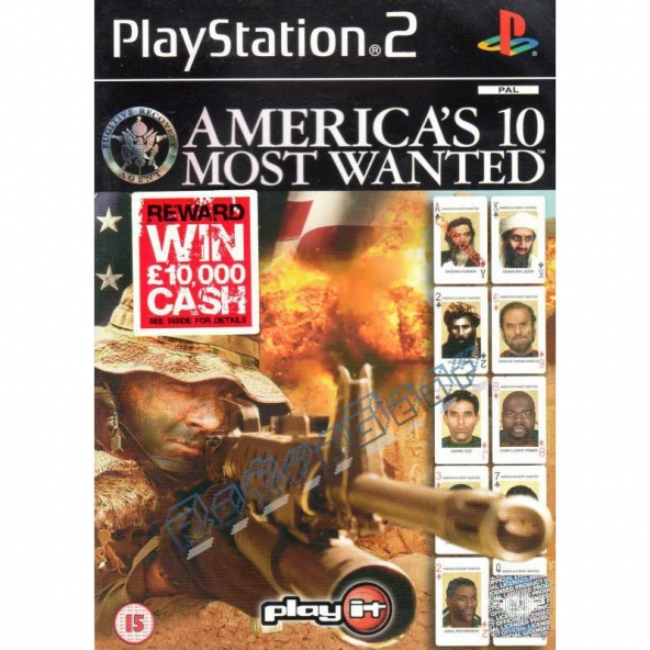 Americas 10 Most Wanted (early cover)