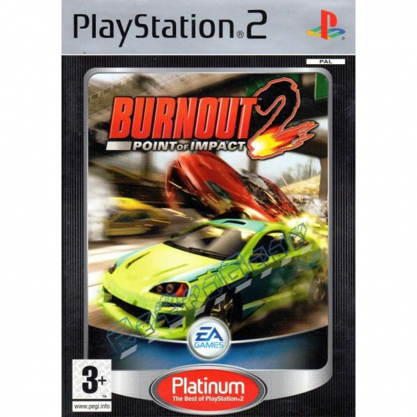 Burnout 2 Point of Impact (platinum)