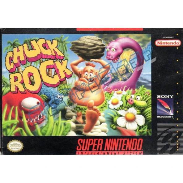 Chuck Rock (US NTSC)
