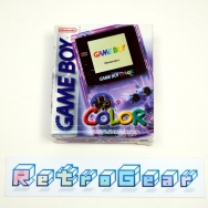 Game Boy Color - Atomic Purple - Boxed Complete