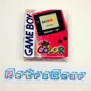 Game Boy Color - Berry - Boxed Complete