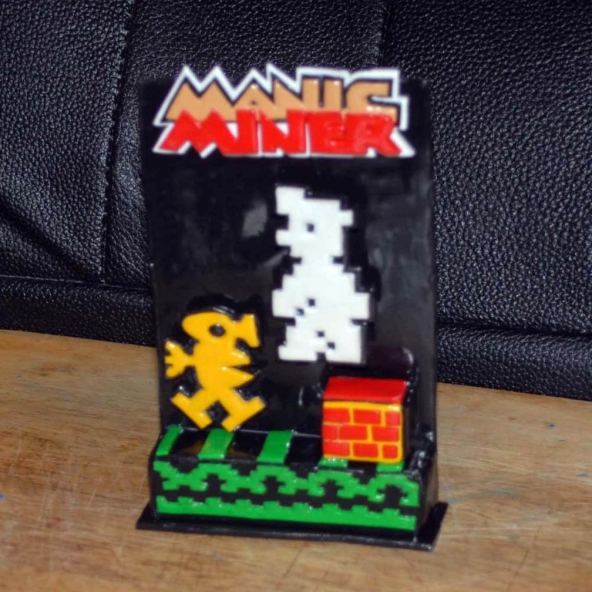 Manic Miner Tribute (design B)