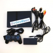 PlayStation 2 Slim unboxed