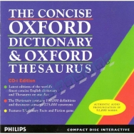 The Concise Oxford Dictionary & Oxford Thesauraus