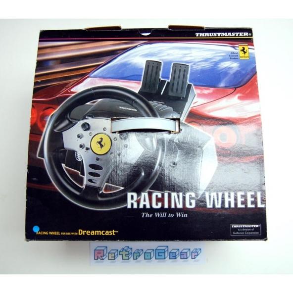 Thrustmaster Ferrari Racing Wheel for Dreamcast
