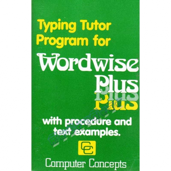 Typing Tutor for Wordwise Plus